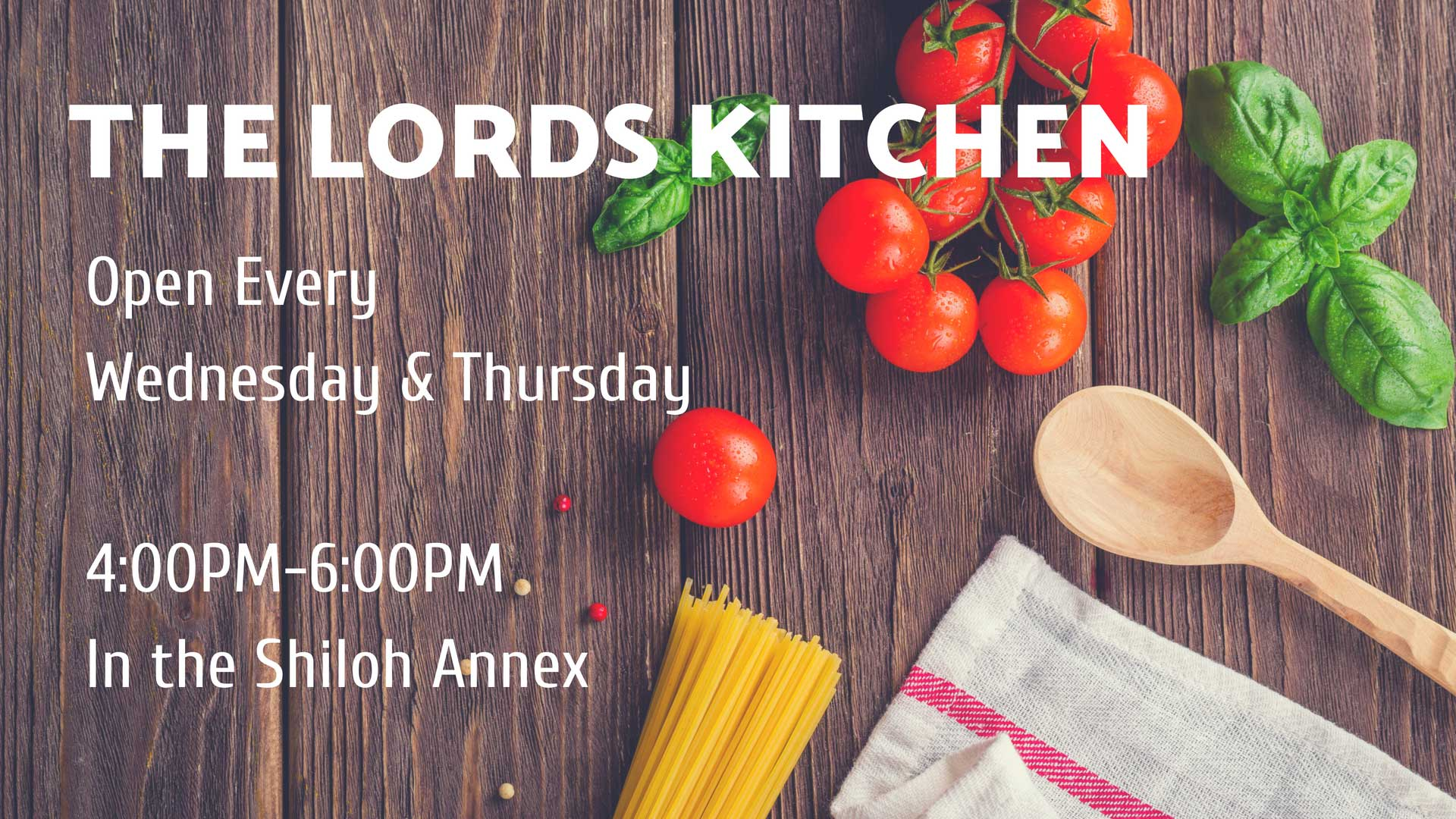 The Lord's Kitchen